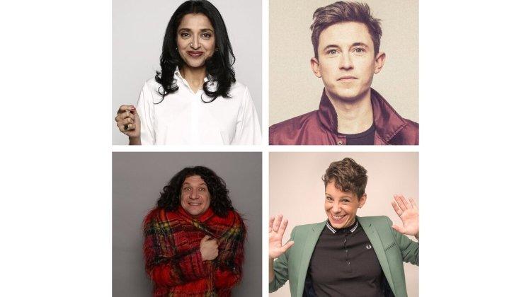 Good Ship Comedy: Sindhu Vee, Suzi Ruffell, Jake Lambert and Ben Van der Velde (MC)