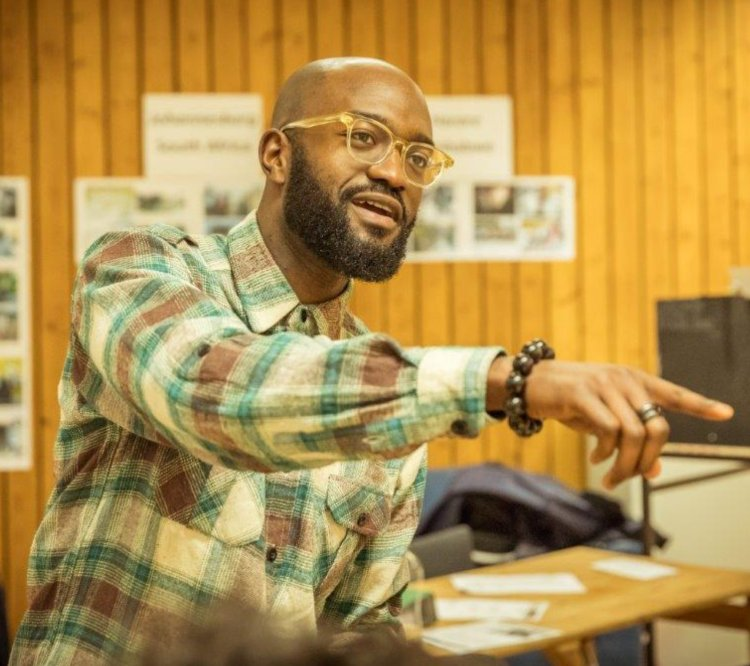 Playwriting at the NT with Inua Ellams