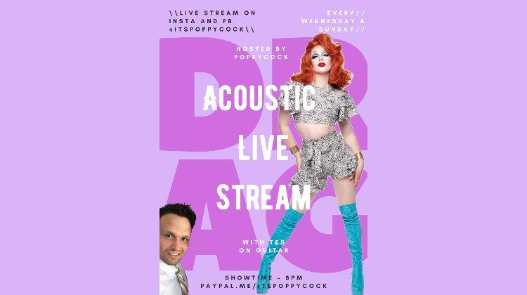 Poppycock's Acoustic Live Stream