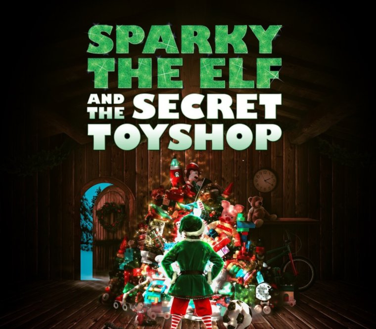 Sparky the Elf and the Secret Toyshop