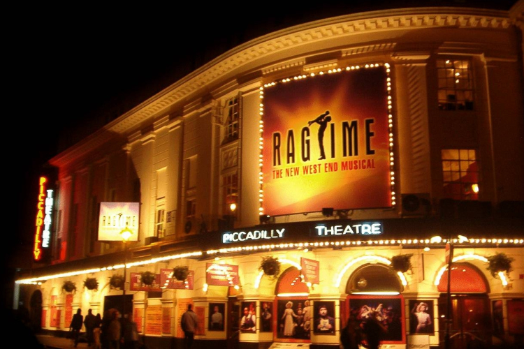 Piccadilly Theatre cover