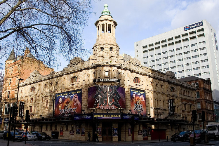 Shaftesbury Theatre cover