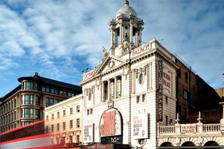 Victoria Palace Theatre cover